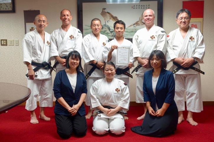 Kawashima sensei and WSKO team.